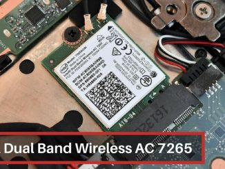 Intel Dual Band Wireless AC 7265