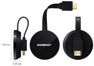 SUMBOAT Wireless Portable Display Dongle
