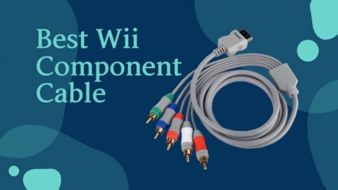 Best Wii Component Cable